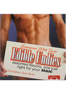 Sensuous With Taste Edible Undies Male Vanilla Ice Cream