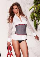 Suit Inspired Cincher Grey M