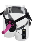 10 Function Silicone Love Rider G Kiss Harness Pink